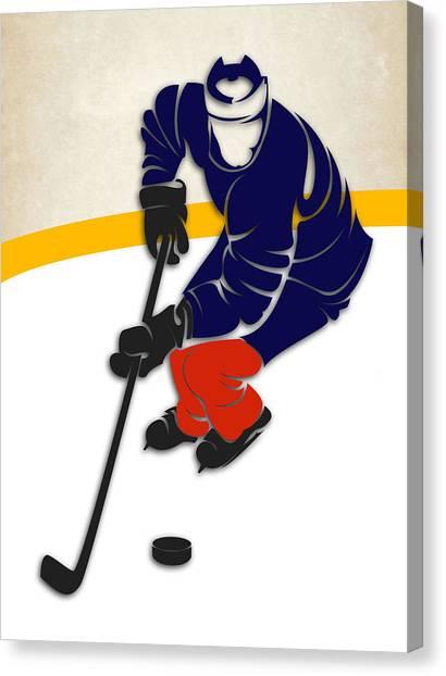 Edmonton Oilers Canvas Print - Edmonton Oilers Rink by Joe Hamilton