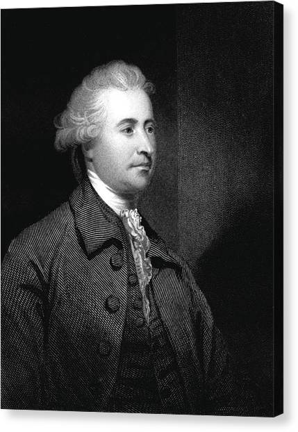 18th Century Canvas Print - Edmund Burke by Collection Abecasis