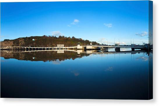 Waterford Canvas Print - Edmund Rice Bridge Across A River by Panoramic Images