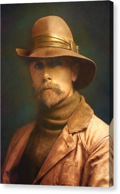 Edward S. Curtis 1899 Canvas Print