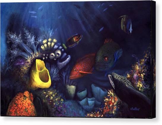 Eel Canvas Print