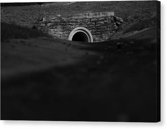Eerie Tunnel Canvas Print