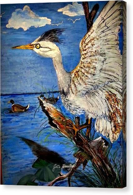 Egert Lands Canvas Print