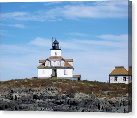 Egg Rock Lighthouse Canvas Print