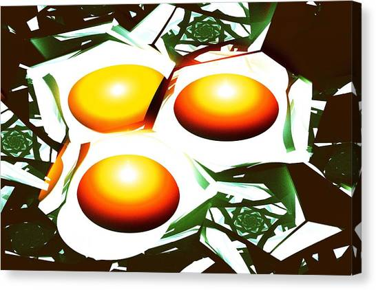 Eggs For Breakfast Canvas Print