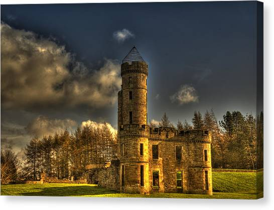 Eglinton Castle Canvas Print