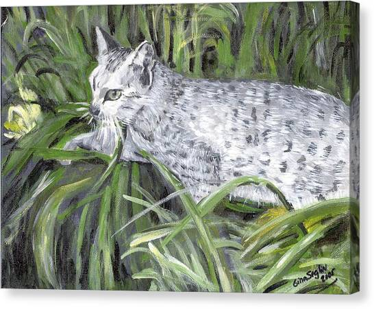 Egyptian Maus Canvas Print - Egyptian Mau Cat by Olde Time  Mercantile
