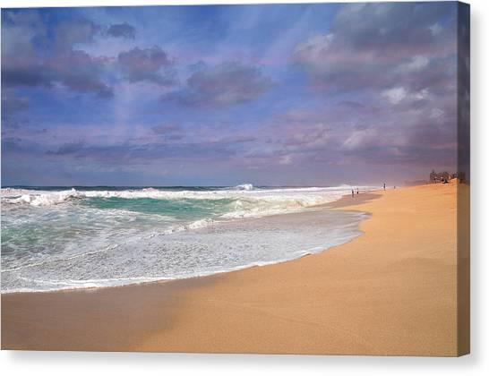 Ehukai Beach Canvas Print