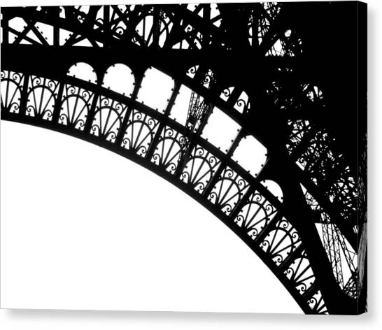 Eiffel Metal Crochet  Canvas Print by Rita Haeussler