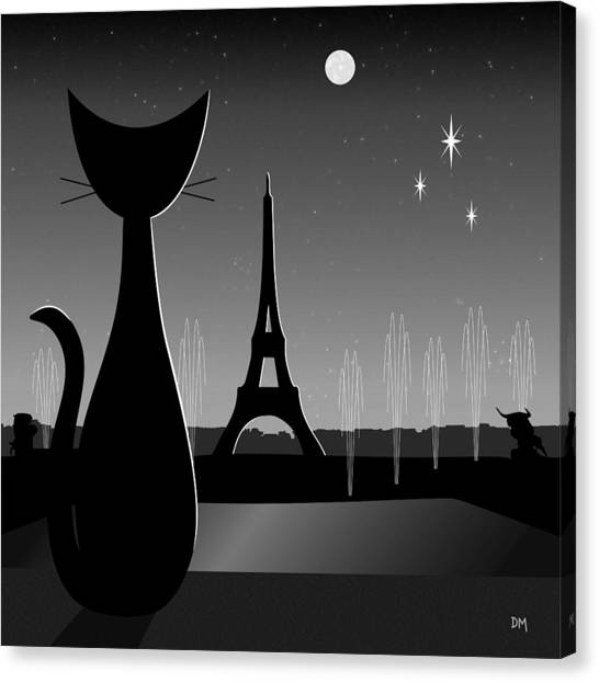 Eiffel Tower Canvas Print