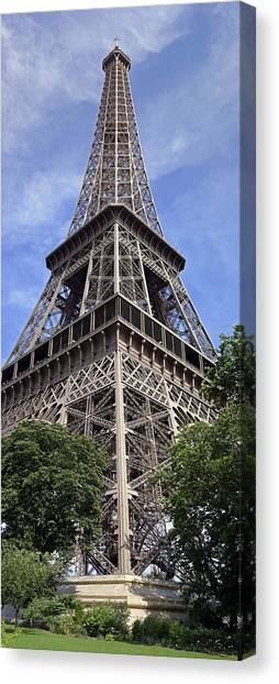 Eiffel Tower Canvas Print by Gary Lobdell