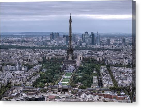 Eiffel Tower Canvas Print by Ioan Panaite