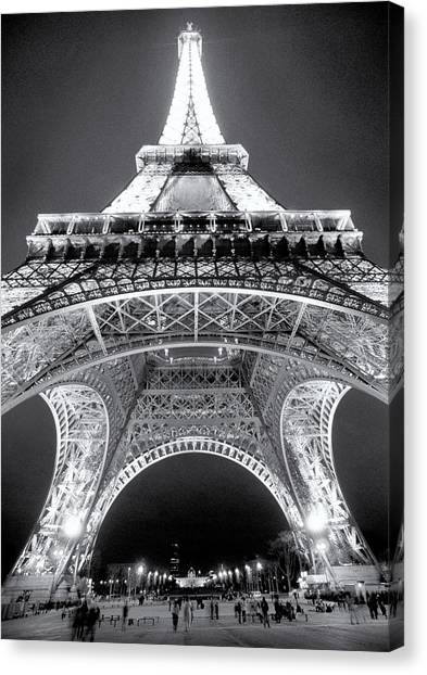Eiffel Tower Canvas Print by John Gusky
