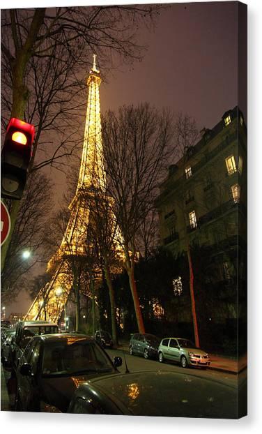 Eiffel Tower - Paris France - 011317 Canvas Print by DC Photographer