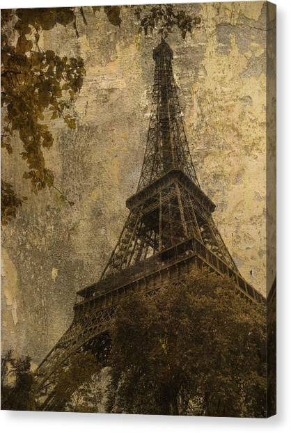 Eiffel Tower Paris France Canvas Print