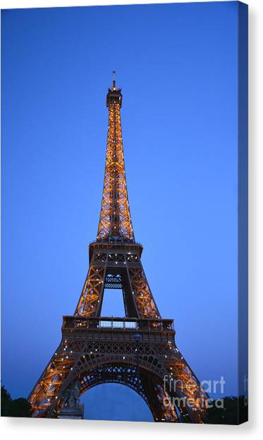 Eiffel Tower - Tour Eiffel Canvas Print