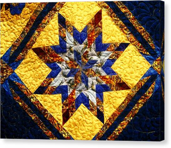 Eight Pointed Star Canvas Print