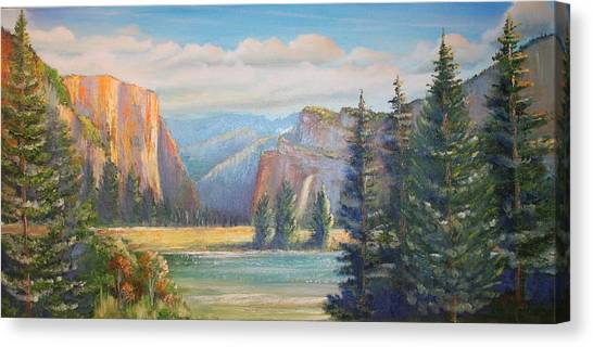 El Capitan  Yosemite National Park Canvas Print
