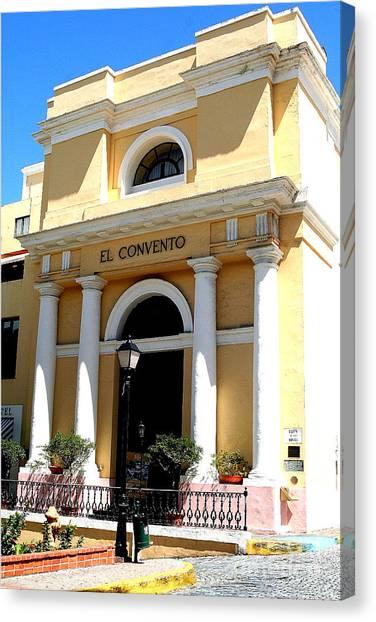 El Convento Hotel Canvas Print