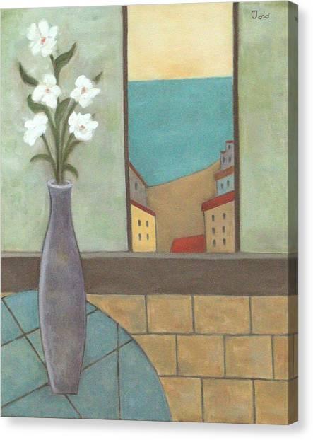 El Mantelito Azul Canvas Print