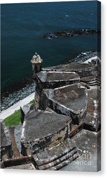 El Morro From Above Canvas Print