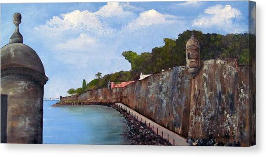 El Morro Canvas Print