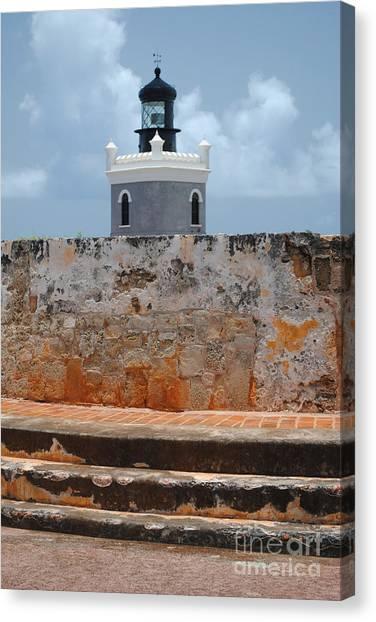 El Morro Light Tower Canvas Print