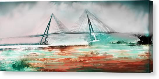 El Puente De Ayamonte Canvas Print