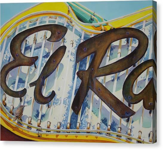 El Ray Canvas Print