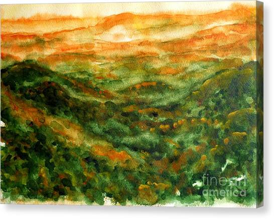 El Yunque Rainforest Canvas Print
