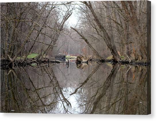Eldon's Reflection Canvas Print