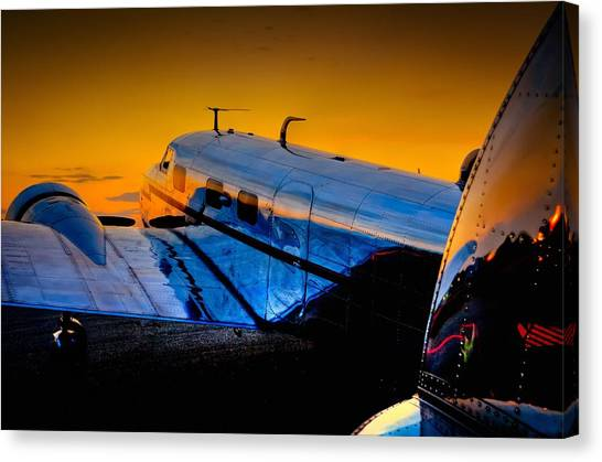 Electra Sunset Canvas Print