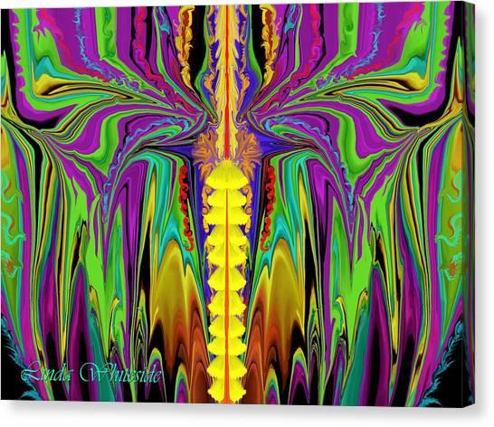Electric Metamorphorsis Canvas Print
