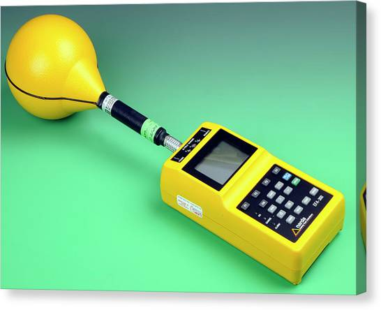 Electronic Instruments Canvas Print - Electromagnetic Field Analyser by Public Health England