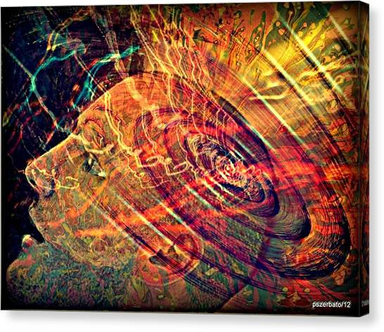 Electromagnetic Waves Canvas Print