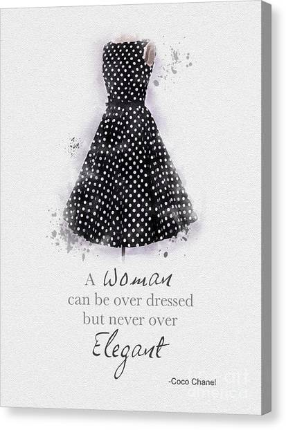 Oil Canvas Print - Elegant by My Inspiration