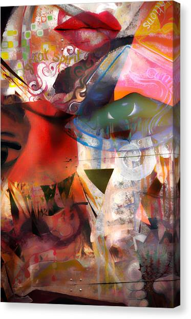 Elements Of Estrogen  Canvas Print