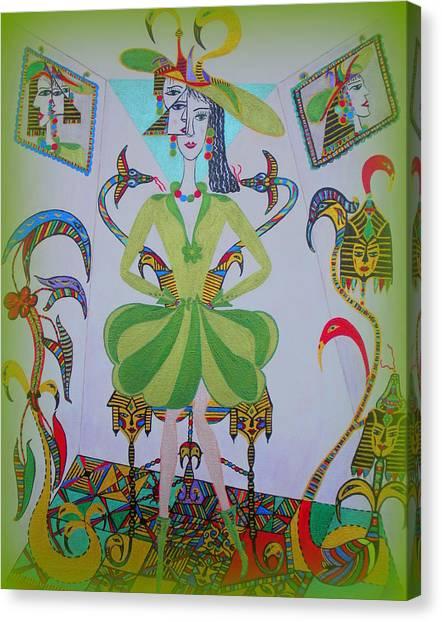 Eleonore Friend Princess Melisa Canvas Print