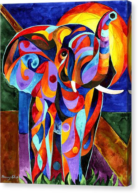 Elephant Dream Canvas Print