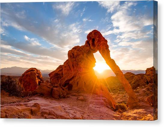 Elephant Rock Canvas Print