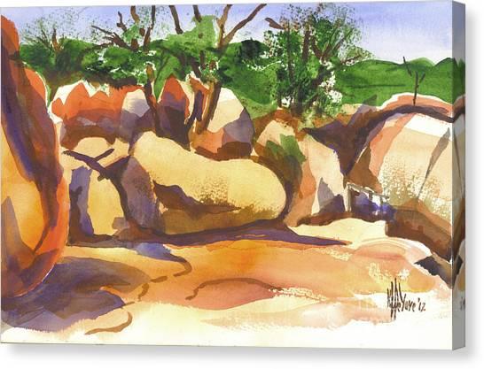Elephant Rocks Revisited I Canvas Print
