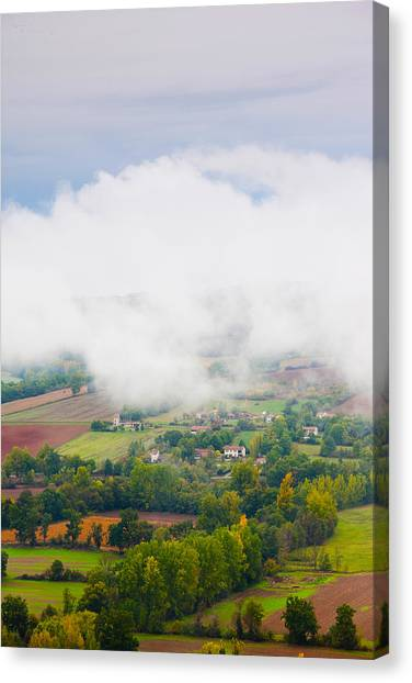 Corde Canvas Print - Elevated View Of The Cerou Valley by Panoramic Images