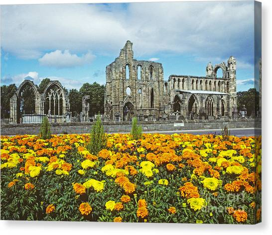 Elgin Cathedral - Scotland Canvas Print