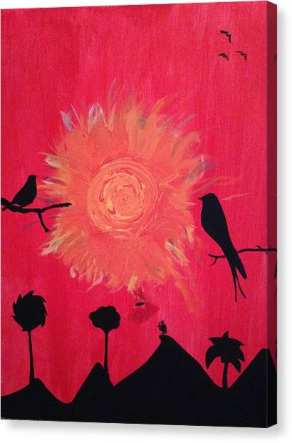 Ravens Canvas Print - Elijah by Brandon McKenzie