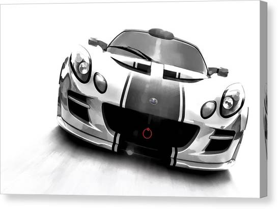 British Canvas Print - Elise by Douglas Pittman