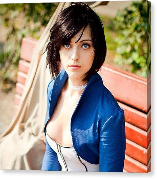 Bioshock Canvas Print - Elizabeth From Bioshock Infinite by Kegan Piper