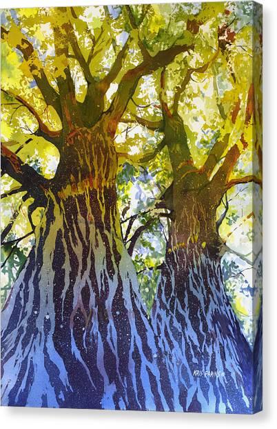 Elizabeth's Canopy Canvas Print