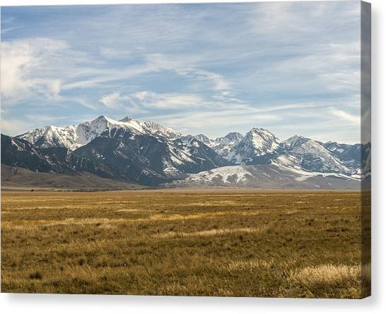 Elk Country Canvas Print by James Dudman