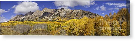 Elk Mountain Panorama Canvas Print