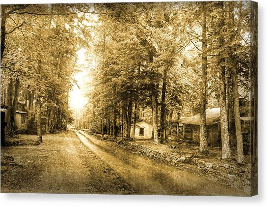 Elkmont Ghost Town Canvas Print